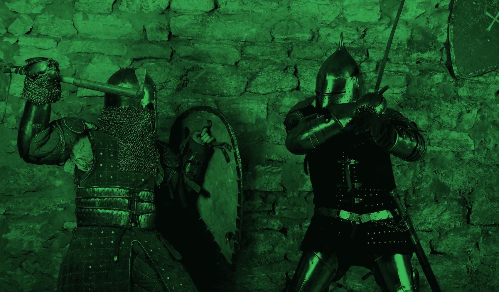 European sword fighting