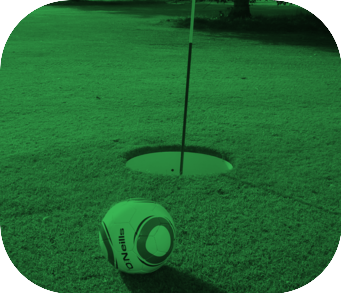 Oval small footgolf